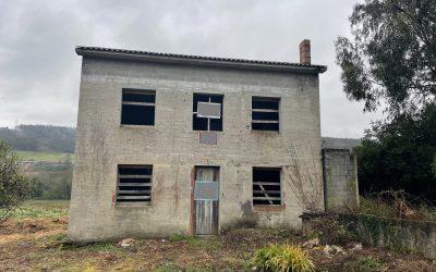 Casa en construcción cerca de Coristanco
